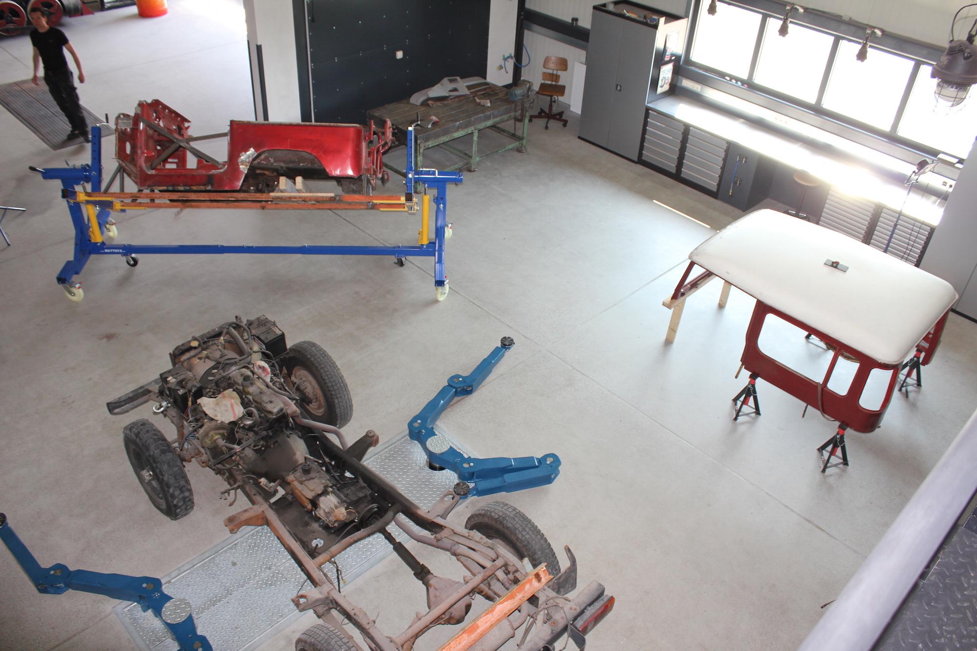 Jeep Station Mockrehna bei leipzig - Werkstatt für PKW, Geländewagen, Transporter und Oldtimer